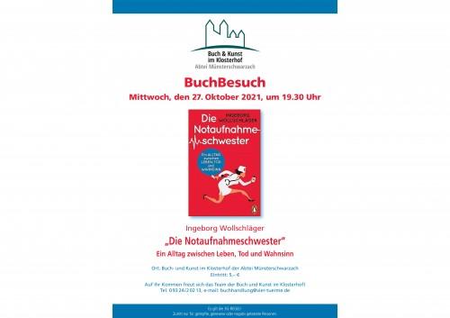 """BuchBesuch: """"Die Notaufnahmeschwester"""""""